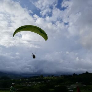 Private paraglide from Medellin